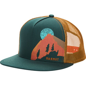 Marmot Trucker Cap, botanical garden/scotch